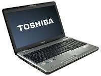 "TOSHIBA L500 15.6"", FAST 2.00GHz(x2), 4GB, 160GB, WIFI, WEBCAM, HDMI, DVD, OFFICE, AVG, WIN 7 64-BIT"