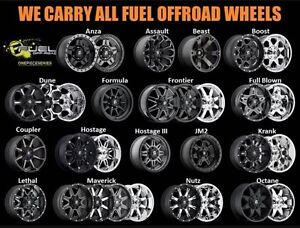 Fuel Rims Now In Stock!!!! New2you Tire Sales & Service!!!!!