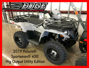 2019 Polaris Sportsman 450 Hig Output Utility Edition GHOST GRAY