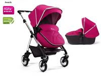 Nearly new Silver cross wayfarer pram pushchair and carrycot (3 mounts old)