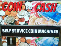 for sale coin to cash machine Brand new