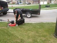 Yard Clean Up Spring Lawn Leaf Raking Cutting Contracts