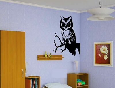 Cheap Wall Vinyl Sticker Decals Room Decor Owl Bird on Tree  #132](Cheap Wall Decals)