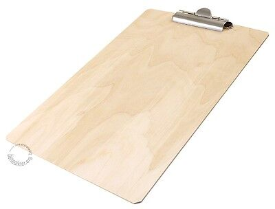 50 x KLEMMBRETT HOLZ A4  32x22 KLEMMPLATTE Clipboard Schreibunterlage gebraucht kaufen  Moosinning