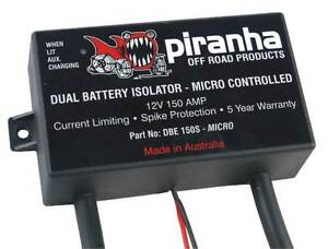 Piranha DBE 150s Dual Battery System Kyabram Campaspe Area Preview