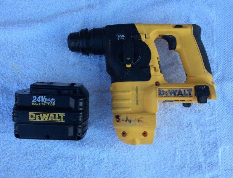 Dewalt 24v Cordless Drill For