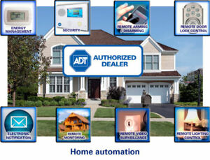 ADT Security-FREE ALARM SYSTEM + CAMERA + SENSORS + INSTALL