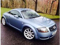 2005 Audi TT Coupe 1.8 Quattro MOT to SEPT 17