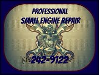 •FREE Pickup of Lawnmowers and Snowblowers•