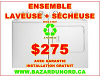 Laveuse a partir de $175.00/ Washer starting at $175.00