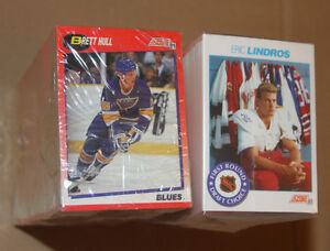 1991-92 SCORE COMPLETE 330 CARDS SERIES 1 HOCKEY SET Strathcona County Edmonton Area image 1