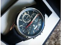 Raymond Weil: Freelancer Watch. Automatic Chronograph/Leather Strap/Sapphire Crystal.