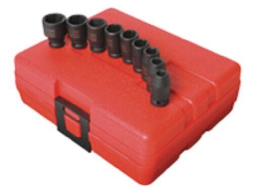 1/4 Dr. 10 Piece Magnetic Impact Socket Set