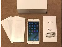 IPhone 6 Plus 16gb gold boxed good condition!