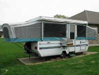 12 ft. Jayco Tent Trailer with added bells & whistles for sale