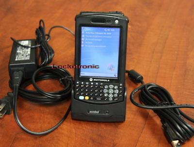 Motorola Symbol Pocket PC Barcode Scanner MC50 MC5040 - PS0DBQEA8WR w/ Cradle Motorola Pocket Pc