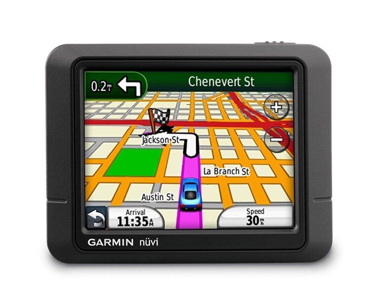 GPS (TOM -TOM) GARMIN NUVI SATELLITE NAVIGATION WITH UK AND WESTERN EUROPE MAPS