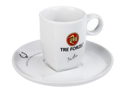 Tre Forze! Cappuccino Tasse mit Unterteller - Caffe Milano online kaufen