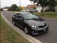 2010 Toyota Corolla S - Immaculate Condition