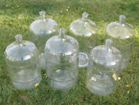 WINE MAKING GLASS 23 LITRE (6 GALLON) CARBOYS