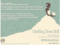 Wedding Dress Ball - Sat 17th Sept