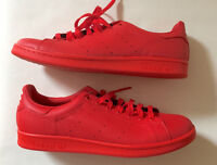 "ADIDAS STAN SMITH ""PHARRELL"" RED, SIZE 12.5"