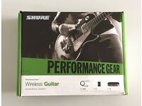 Shure Wireless Guitar System