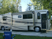 Travel in style with this motorhome