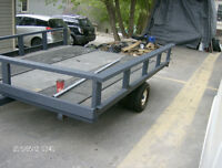 EX-SNOWMOBILE TRAILER