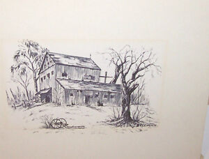 Print - The Old Barn by B. Clements London Ontario image 1