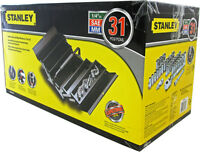 New - STANLEY STEEL TOOL BOX + 30 PIECE SOCKET SET SUPER DEAL !!