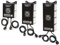 Hydroponics Maxibright Greenpwer 2 4 6 8way 600w HPS Light Contactor Blackbox Timer box Built In