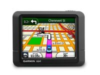 GPS (TOM -TOM) GARMIN NUVI SATELLITE NAVIGATION WITH UK AND WESTERN EUROPE MAPS FOR SALE
