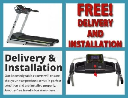 OMA 13090 Activity-Plus Treadmill + FREE Delivery & Installation