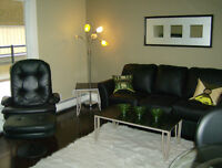 Walk to Work! Fully Furnished, One Bdrm