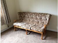 REDUCED! Very comfortable three seater settee