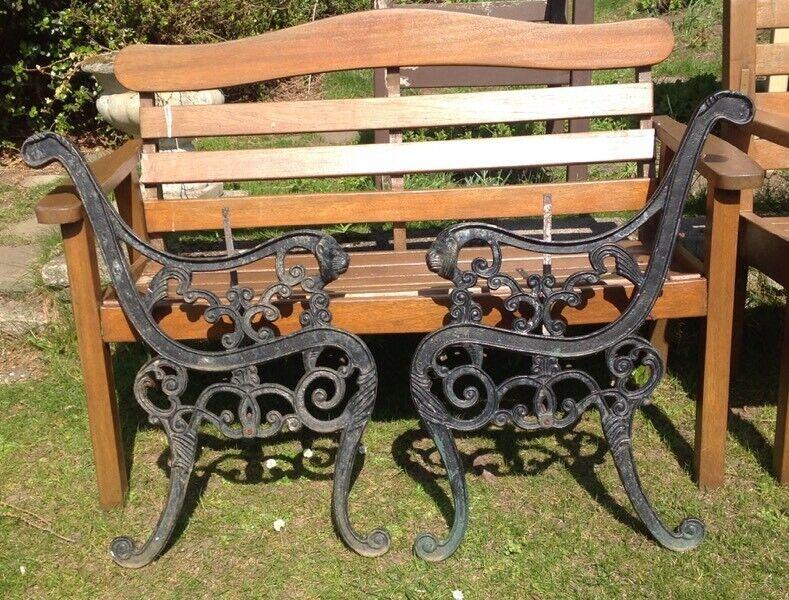 Cool Other Reclaimed Pair Of Victorian Cast Iron Garden Bench Ends 70 Or Best Offer In Dundee Gumtree Inzonedesignstudio Interior Chair Design Inzonedesignstudiocom