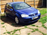 VW golf mk5 1.6FSI 2005 mot+warranty