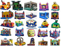 Children party rental inflatable castles cotton candy