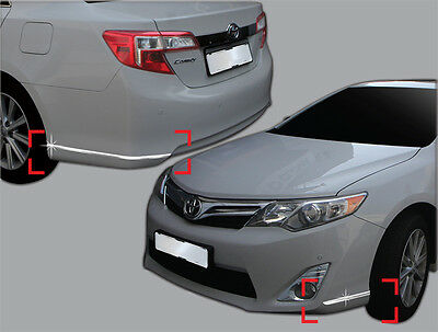 Chrome Front Upper Radiator Grille Garnish Molding for TOYOTA 2012-2014 Camry