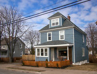 Restored 4 Bed. with finished attic and large double lot.