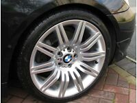 """WANTED - BMW 19"""" Inch Spyder Spider Alloy Wheels for E60 5 Series"""