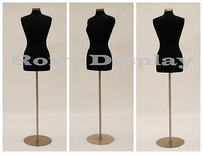 High Quality Size 6-8 Female Mannequin Manikin Dress Form Jf-fwp-bk Bs-04