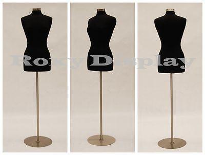 High Quality Size 6-8 Female Mannequin Manikin Dress Form F68bk Bs-04