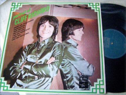 Pop Rock  Cliff Richard - Portrait Of  Vinyl 1972 JG1