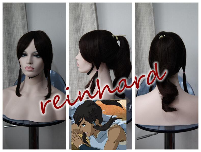 Avatar: Legend of Korra -Korra cosplay anime Wig