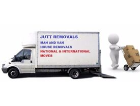 MAN AND VAN JUTT REMOVALS LTD (24/7) CALL NAJEEB ULLAH SPECIAL OFFER 30%OFF BEST Price