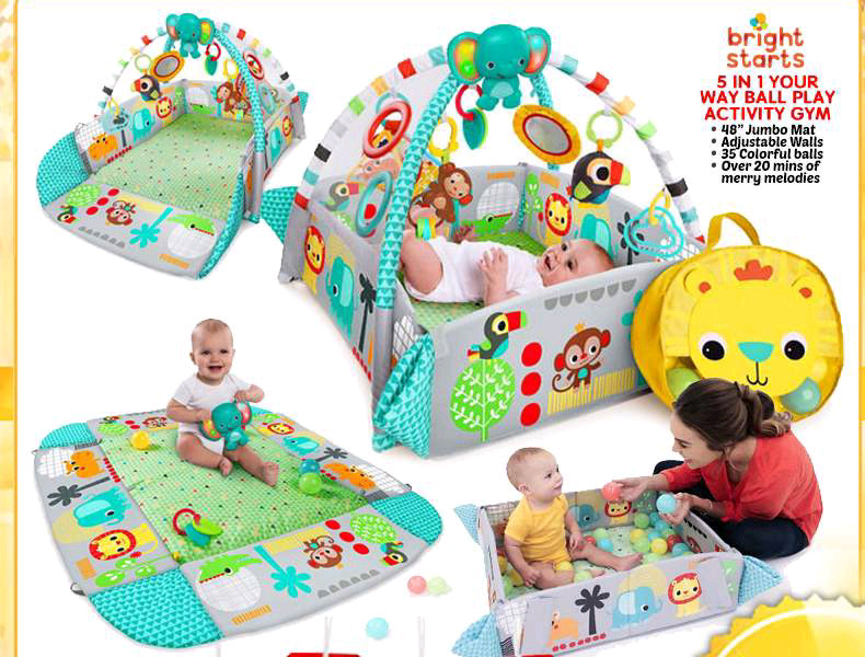 f419d6a5cf7 Description. Your growing little child will have a blast in the 5-in-1 Your  Way Ball Play Activity Gym ...