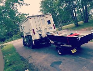 Possibly trade truck camper for tow behind