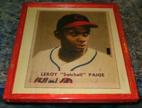 Satchell Paige picture - mounted, ready to display